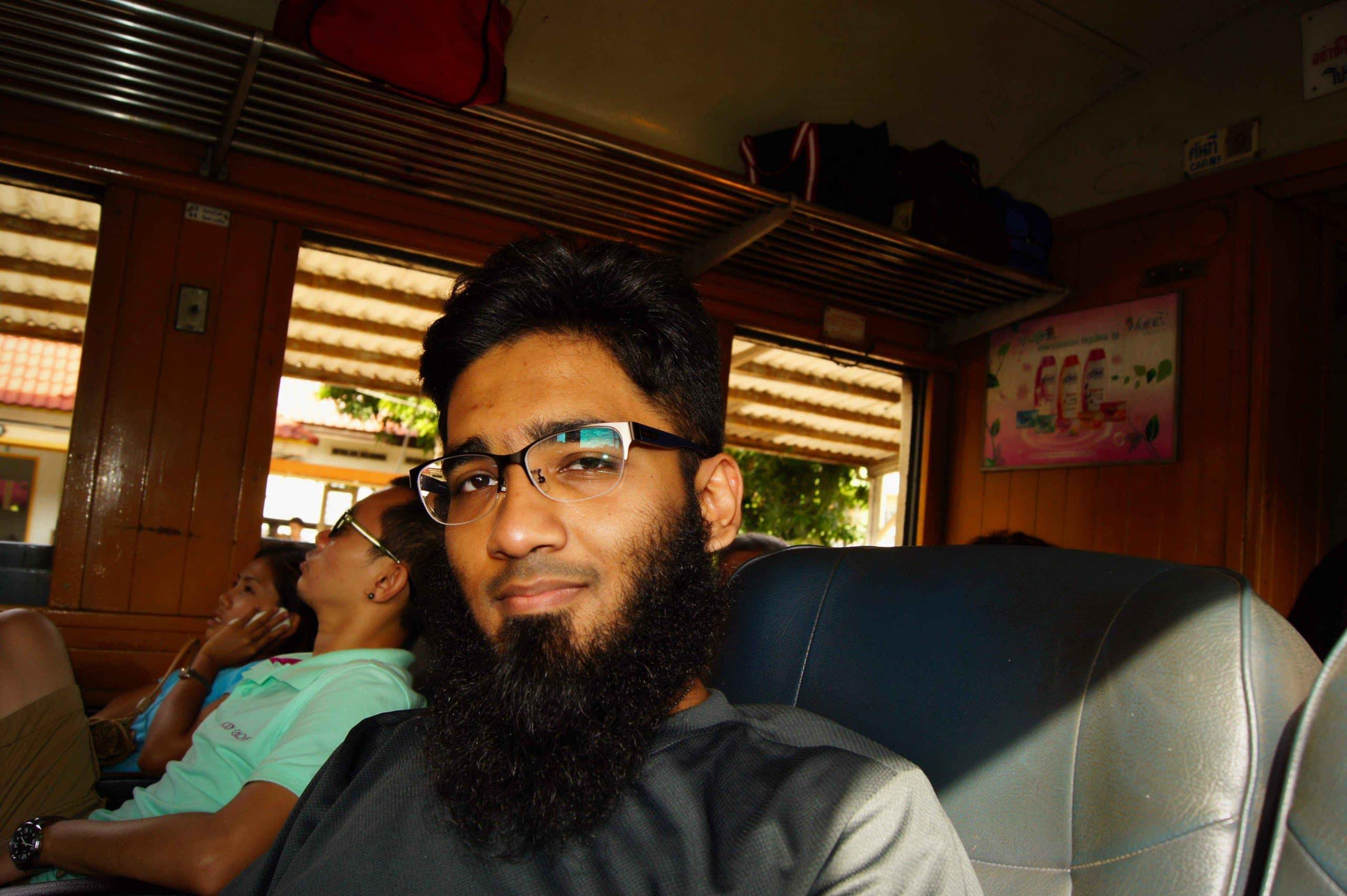 Ayutthaya to Chiang Mai Rapid Train 109