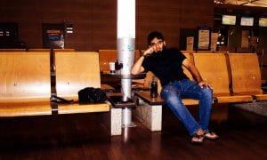 Umair Ramay at Incheon Airport South Korea