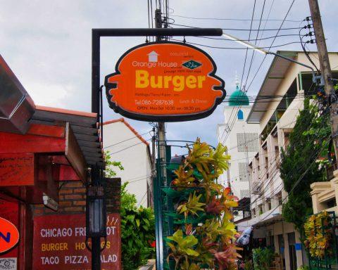 Chicago Orange Burger House Halal Restaurant in Thailand